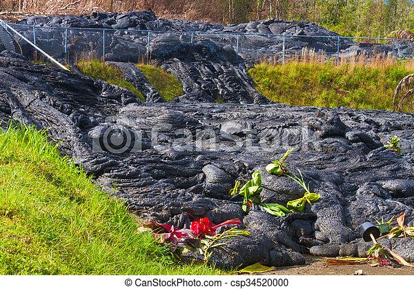 Lava flow - csp34520000
