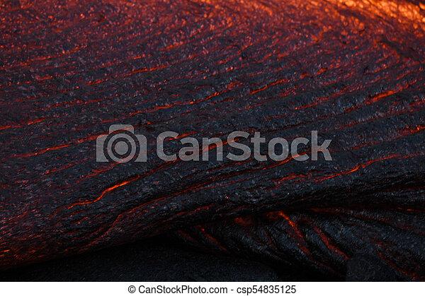 lava surface flow - csp54835125