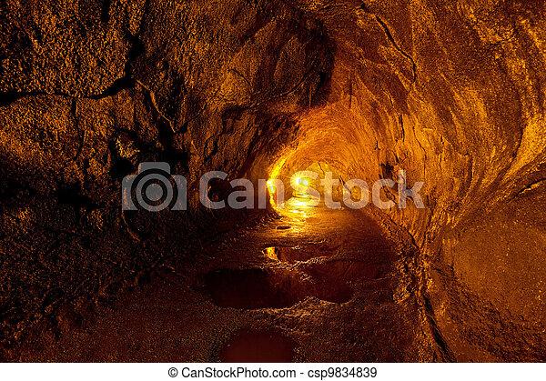 Lava tube - csp9834839