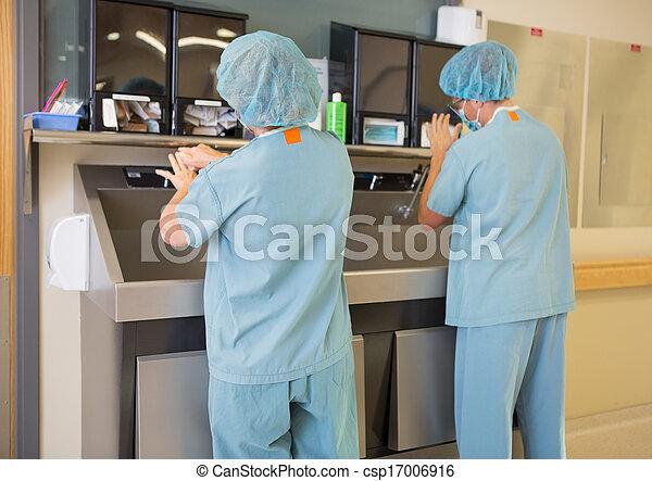 Lavabo Manos.Lavabo Manos Lavado Cirujanos
