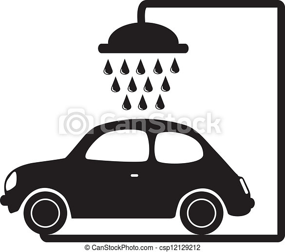 lavage voiture - csp12129212