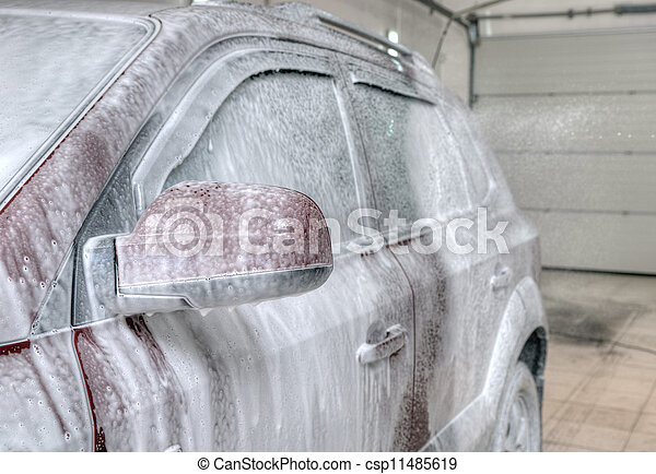 lavage voiture - csp11485619