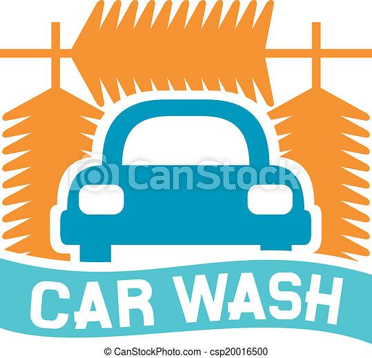 lavage voiture, signe - csp20016500