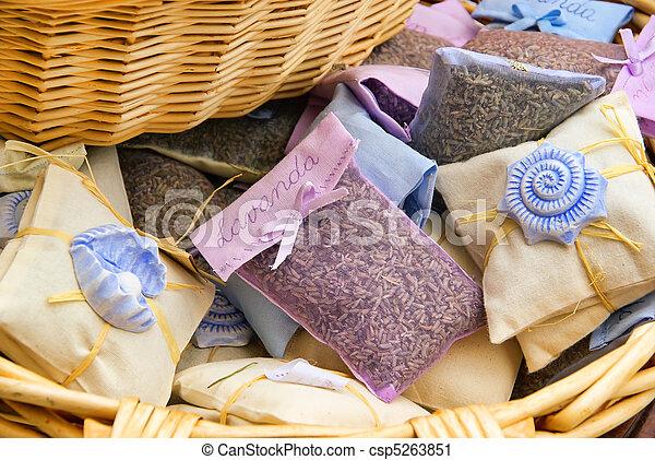 lavender little bag - csp5263851