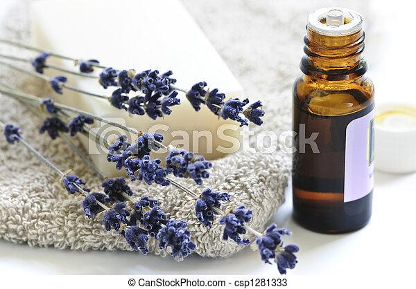 Lavender soap - csp1281333