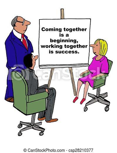 lavorare insieme - csp28210377