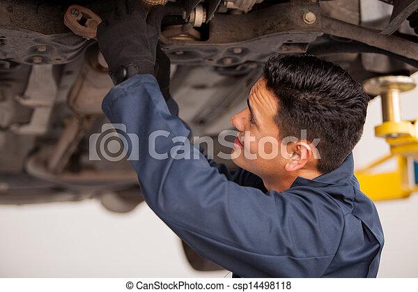 lavorativo, sospeso, veicolo - csp14498118