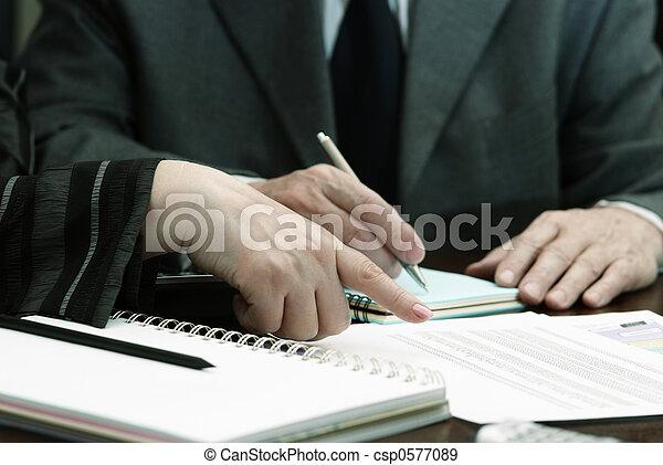 lavoro, affari - csp0577089
