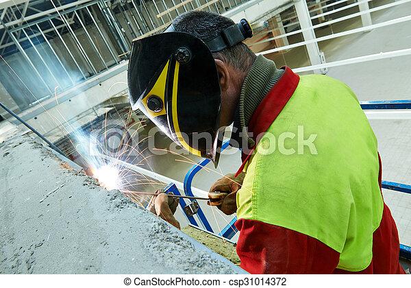 lavoro, saldatore - csp31014372