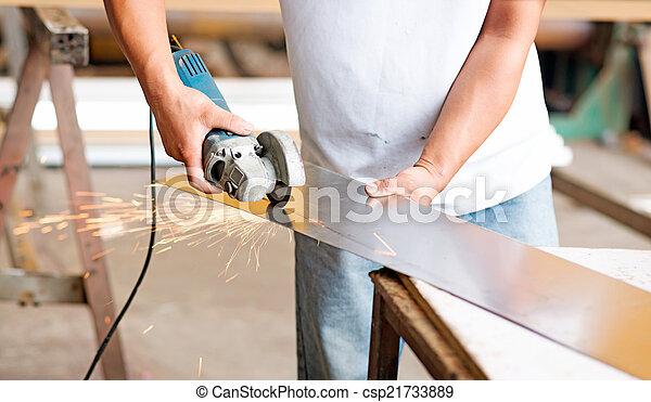 lavoro, saldatore - csp21733889