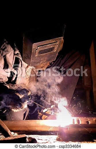 lavoro, saldatura - csp3334684