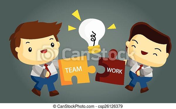 lavoro squadra - csp26126379