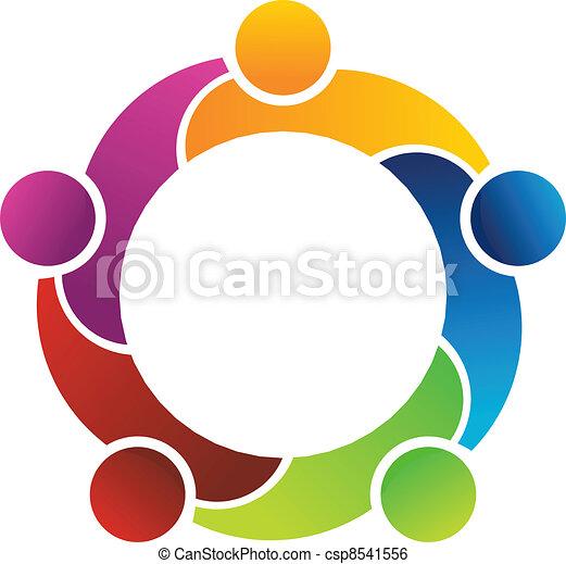 lavoro squadra - csp8541556