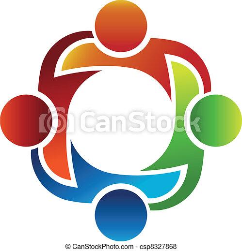 lavoro squadra - csp8327868