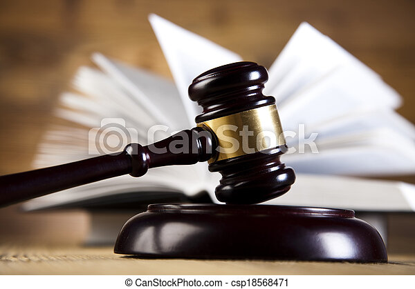 Law and justice concept, legal code - csp18568471