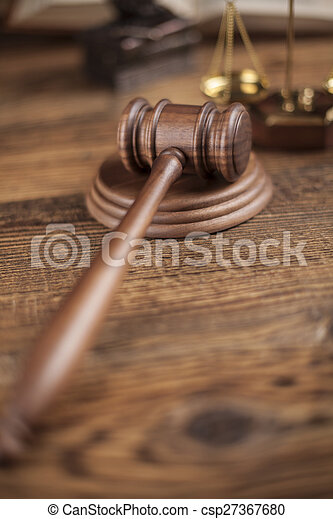 Law and justice concept, legal code - csp27367680