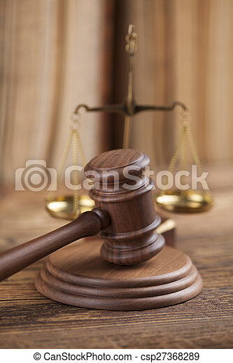 Law and justice concept, legal code - csp27368289