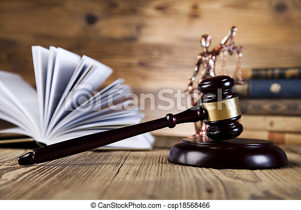 Law and justice concept, legal code - csp18568466