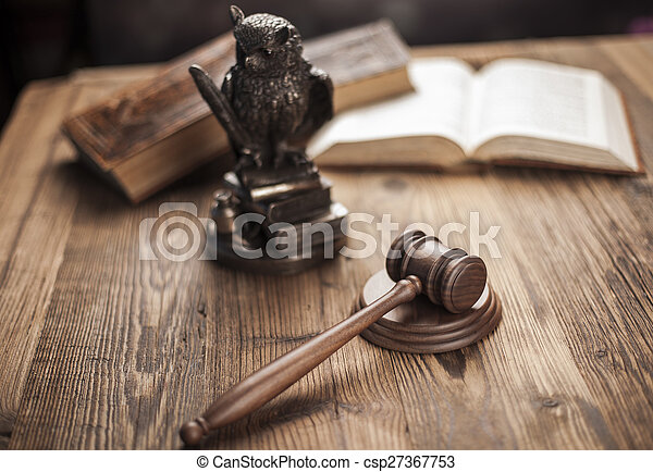 Law and justice concept, legal code - csp27367753