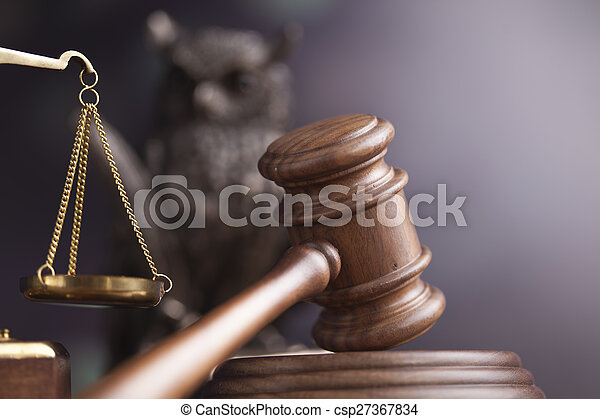 Law and justice concept, legal code - csp27367834