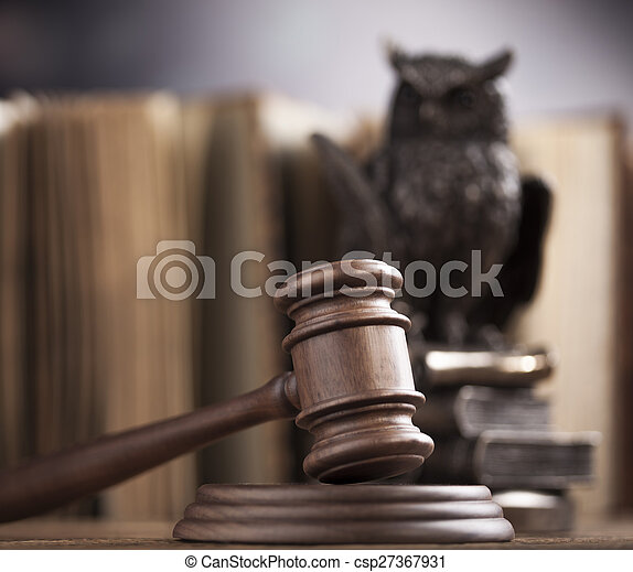 Law and justice concept, legal code - csp27367931