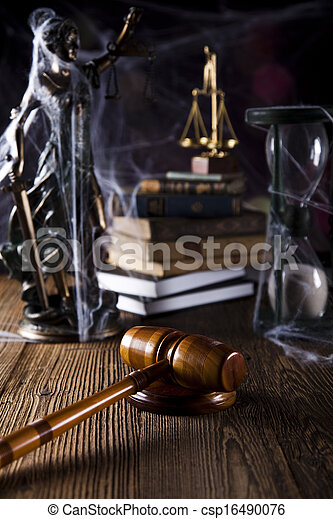Law and justice concept - csp16490076