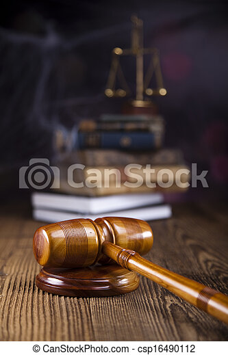Law and justice concept - csp16490112