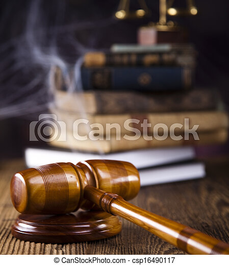 Law and justice concept - csp16490117