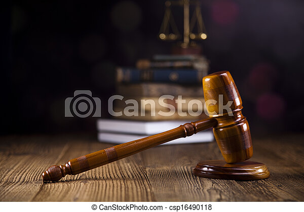 Law and justice concept - csp16490118