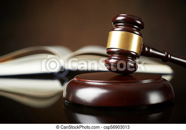 Law and Justice concept - csp56903013