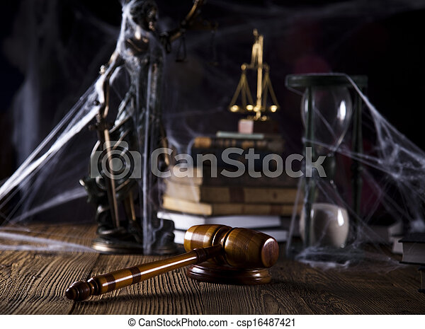 Law and justice concept - csp16487421