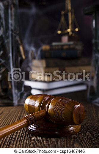 Law and justice concept - csp16487445