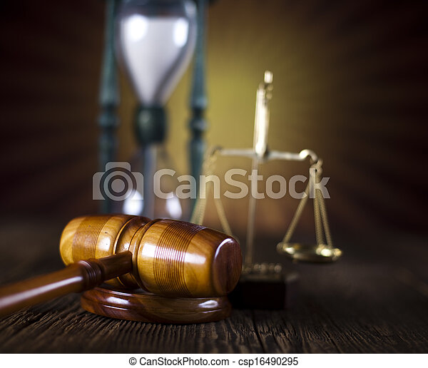 Law and justice concept - csp16490295