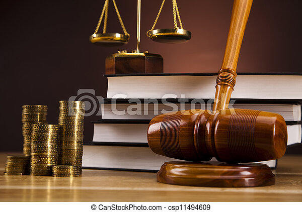 Law and justice concept - csp11494609