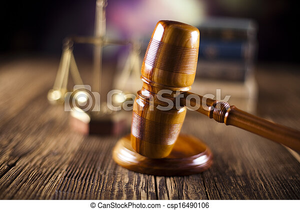 Law and justice concept - csp16490106