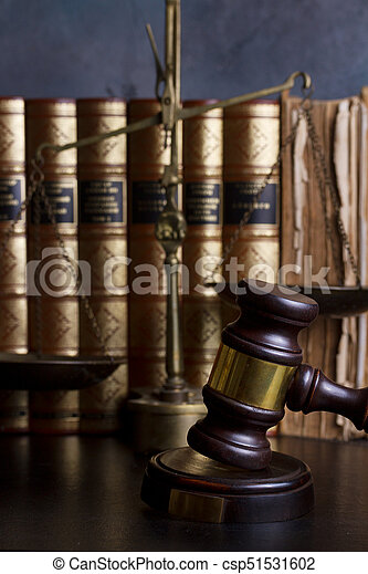Law and justice concept - csp51531602