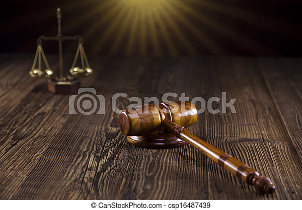 Law and justice concept - csp16487439