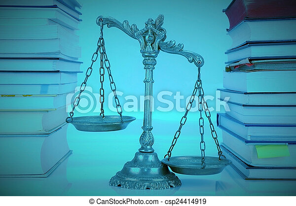 Law and Justice - csp24414919
