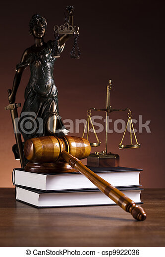 Law and justice - csp9922036