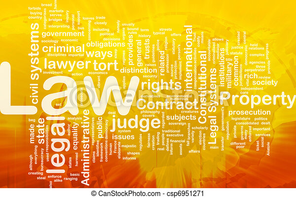 Law background concept - csp6951271