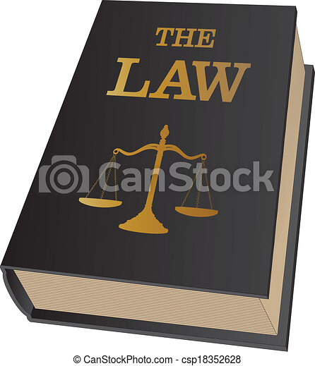 Law Book - csp18352628
