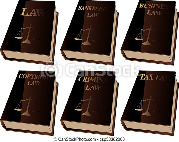 Law Books - csp53382008