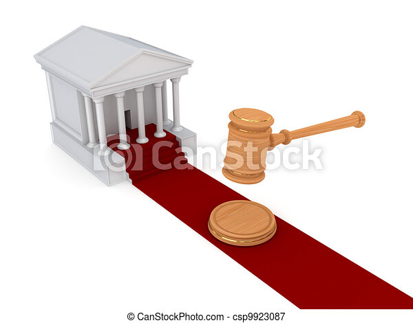 Law concept. - csp9923087
