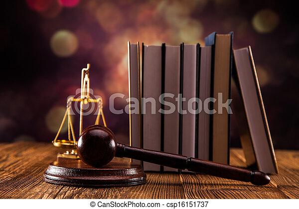 Law concept - csp16151737