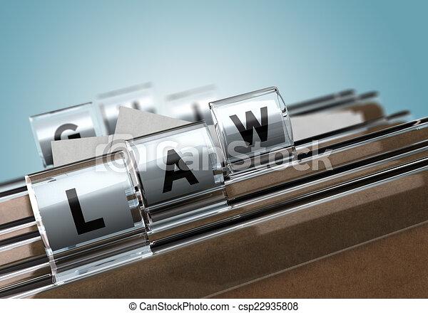 Law - csp22935808