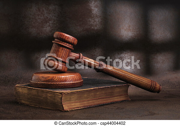 Law gavel - csp44004402