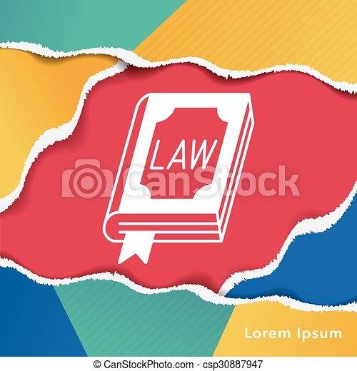 law icon - csp30887947