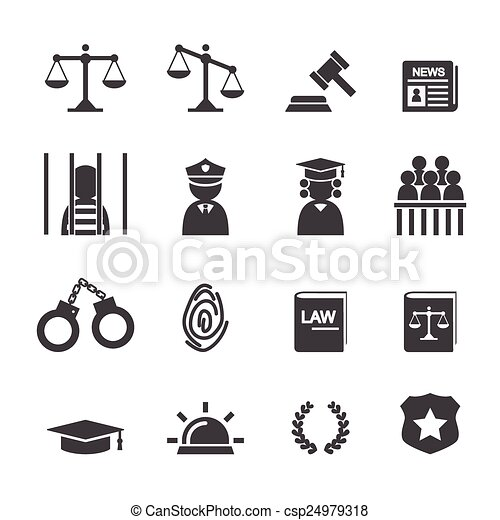 law icon - csp24979318