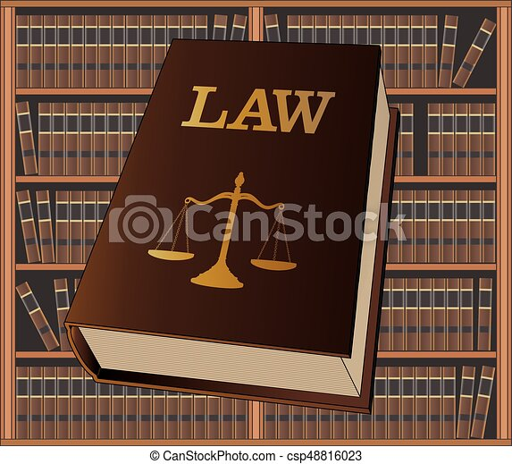 Law Library - csp48816023