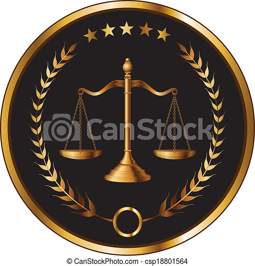 Law or Layer Seal - csp18801564